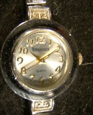 Pretty Ladies Two Tone Round Face Renaissance Bracelet Watch