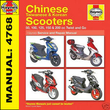 Scooter Manual Haynes Hyosung Scooter SD50, SF50R and SF50B Hd4768