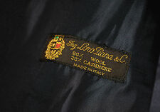 Loro Piana Odermark mens trench coat jacket wool cashmere Made in Italy SIze L
