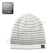 Callaway Unisex Chill Beanie Hat in White - New