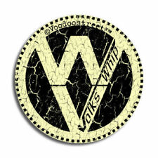 VW SURF RAT WHIP STICKER. 84mm, longboard, panel van, custom car, caddy, pick up