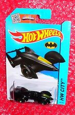 2015 Hot Wheels Batman Live Batmobile  #65 HW City CFK23-07B3 foreign label back
