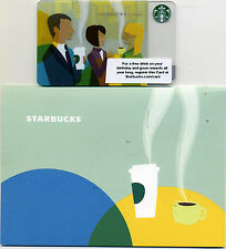 STARBUCKS CONNECTIONS II 2011 CORPORATE CARD & HOLDER -NOT IN STORES