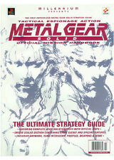 Metal Gear Solid Official Strategy Guide Book RARE Playstation One PS1 Konami OP