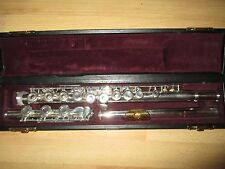 YAMAHA 371 ALLEGRO OPEN HOLE FLUTE #007xxx Excellent Used Cond! Sterling Headjnt