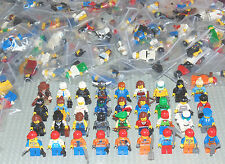 10 GENUINE LEGO MINI FIGURES COMPLETE WITH HAT/HAIR + ACCESSORIES RANDOM VARIOUS