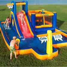 Water Park Inflatable Games Water Slide Bounce House Backyard Pool Big Bouncer