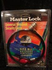 New & Sealed Kensington Master Lock Universal Notebook Security Cable Lock 64030