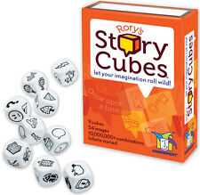 RORY'S STORY CUBES - LET YOUR IMAGINATION ROLL WILD! DICE GAME GAMEWRIGHT