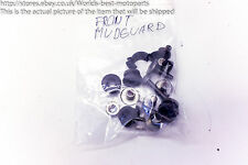 Yamaha XJ6 N (1) Diversion 12' Front Mudguard Bolts Screws Washers