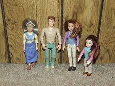 LOT of Fisher Price Loving Family Dollhouse Doll People Family