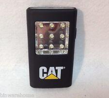 New CAT Pocket Clip Light Worklight Flashlight 5 LED/45 Lumens, 9 LED/80 Lumens