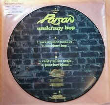 "POISON ""UNSKINNY BOP EP"" 1990 CAPITOL RECORDS LIMITED EDITION 12"" PICTURE DISC"