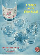 PUBLICITE ADVERTISING  1959   VITTELLOISE  eau minérale  2