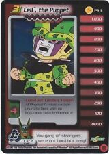 DRAGONBALL Z DBZ CCG CELL, THE PUPPET PS1 NEAR MINT PROMO FOIL