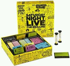 Saturday Night Live 1970s-2000s Laughing Guessing Improv Trivia PARTY GAME SNL