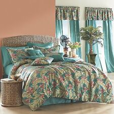 New 21-Piece Tropical Breeze Multi- Color Complete Queen Bed Set