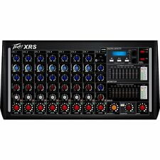 Peavey XR-S 8-Ch 1000W Digital Effects Bluetooth USB MP3 Player Powered Mixer