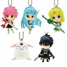 Magic Knight Rayearth Gashapon Swing phone Strap Figure full Set of 5 Bandai New