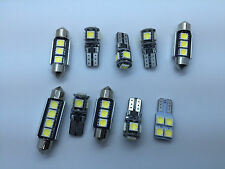 KIT 10 SMD LED Interior Lights VW Volkswagen Passat CC Bulbs White GR