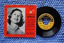 MICHELE ARNAUD / EP DUCRETET THOMSON 460 V 163 / BIEM 1956 ( F )