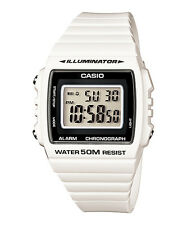 CASIO W-215H-7AV Standard Digital Resin Strap White