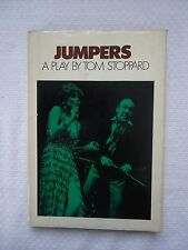 JUMPERS A PLAY BY TOM STOPPARD 1972 HARDCOVER BOOK