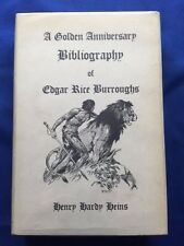 A GOLDEN ANNIVERSARY BIBLIOGRAPHY OF EDGAR RICE BURROUGHS - COMPLETE ED. REVISED
