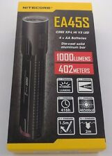 Nitecore EA45S 1000 Lumen CREE XP-L HI V3 LED diecast flashlight NEW!