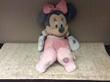 Official Disney Store Large Minnie Mouse Soft Plush  Teddy Doll 23""