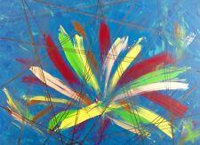 """art moderne abstrait contemporain """"Nice forever """" huile 60x 80cm signé"""