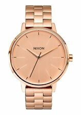 NEW Womens Nixon Kensington Watch Rose Gold -NO RESERVE- time teller.black.