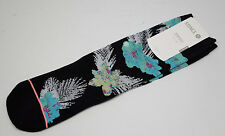 Stance Women's Everyday Tomboy Athletic Socks Island Fever HI Black Green Floral