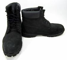 Timberland Boots 6 Inch Premium Black Shoes Size 11