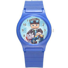 DanTDM The Diamond Minecart Boy Girl Kid Wristwatch Watch B