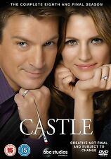Castle Komplette Staffel / Season 8 [6 DVDs] *NEU* DEUTSCH Deutscher Ton Acht