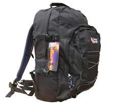 Rucksack Day Pack Travel Bag Air Sports Work Camping Back Backpack Black 30L