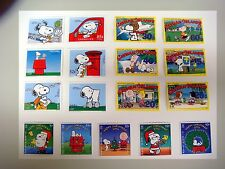 SNOOPY STAMPS PEANUTS CHARLIE BROWN CHARLES SCHULZ COLLECTION OF 3 SETS snpy5