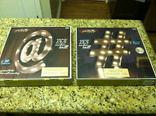 Metal LED Marquee Signs 13.5 inches tall lot Apothecary & Company Light up timer