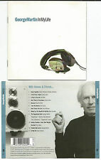 "GEORGE MARTIN ""In my Life"" CD 1998 JEFF BECK/SEAN CONNERY/PHIL COLLINS"