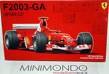 KIT FERRARI F2003-GA SPAIN GP 2003 1/20 FUJIMI GP36 09091