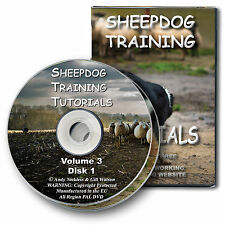 NEW - SHEEPDOG TRAINING TUTORIALS VOLUME 3 - farming herding dog training DVD