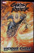 Ghost Rider Vicious Cycle Vol 1 Marvel Comic Paperback Graphic Novel Book New