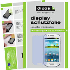2x Samsung Galaxy S3 mini Schutzfolie matt Displayschutz Folie Antireflex