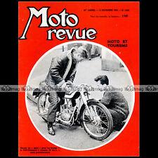 MOTO REVUE N°1620 VAP MONNERET BMW R50 CLAUDE SEMAL TRIAL PIRON TRIUMPH 1962