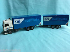 Tekno Daf 95 380 Daf Trucks Space Cab Truck with Trailer