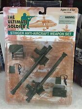 THE ULTIMATE SOLDIER STINGER ANTI-AIRCRAFT WEAPONS SET 1998 MOC