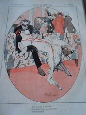 Idylle de Carnaval Masque Tu m'aimes Jure sur ce canapé Print Art Déco 1912