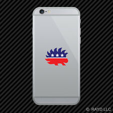 Libertarian Porcupine Cell Phone Sticker Mobile Die Cut liberty