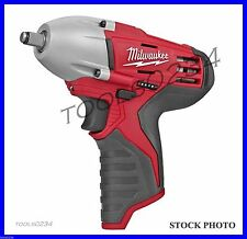 "NOS Milwaukee 2463-20 12-Volt 3/8"" Square Impact Wrench (Bare Tool) Free Ship"